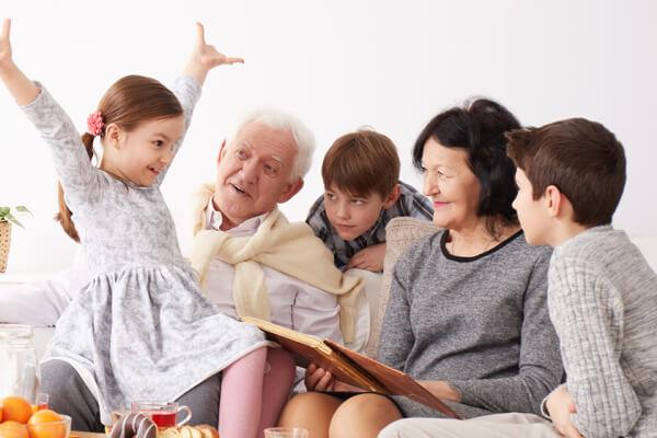 Beneficios relación abuelos y nietos