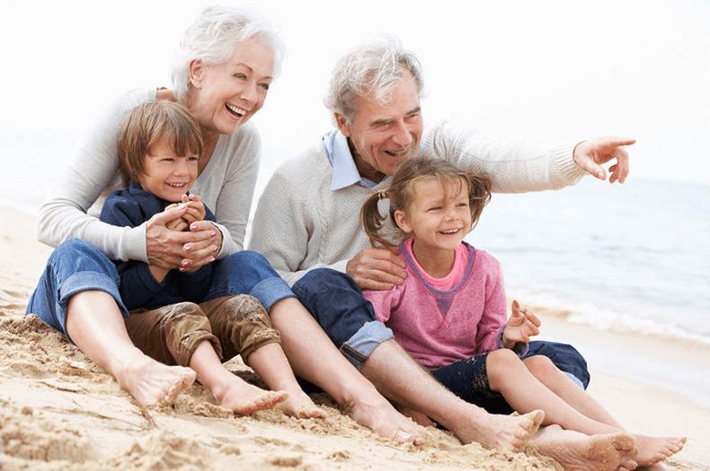 Beneficios de la relación entre abuelos y nietos