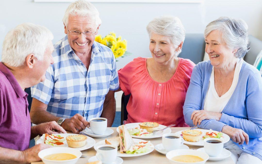 Ideas de menús saludables para personas mayores