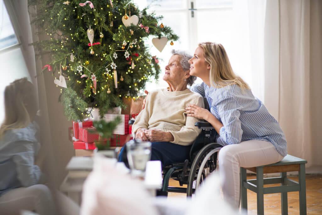 Soledad de los mayores en Navidad